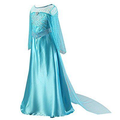 Moin Vestido para Niñas de la princesa de la falda de la impresión ...