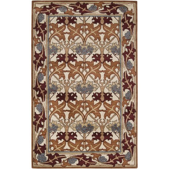 Modern Machine Made Craftsman Style Rug Fintona Donegal Rug 5 X8 Arts Crafts Mission Style Ivory Wool Area Rug Wool Area Rugs Rugs Rug Styles