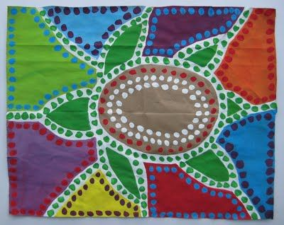 Painting isn't just by the numbers, it can be global and teach kids about culture. Try this aboriginal dot painting idea the next time your kids ask to paint! #playworksmke