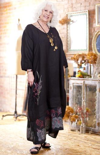 Linen Jonquil Dress