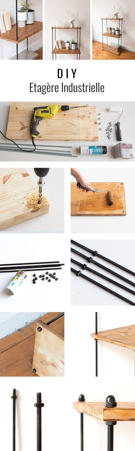 Photo of DIY étagère industrielle | Une hirondelle dans les tiroirs