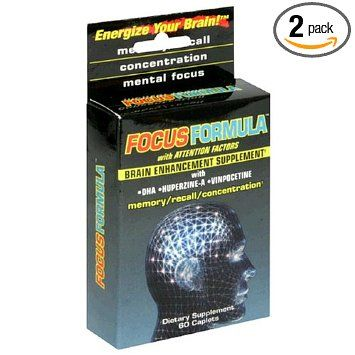 Amazon.com: Windmill Health Products Focus Formula Brain Enhancement Supplement Caplets, 60-Count Boxes (Pack of 2): Health & Personal Care