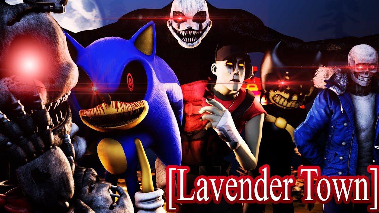 Sfm Fnaf Sonic Tf2 Undertale Bendy Lavender Town Remix Ntcs Epi Cartoon Crossovers Sanic Memes Team Fortress 2 [ 720 x 1280 Pixel ]