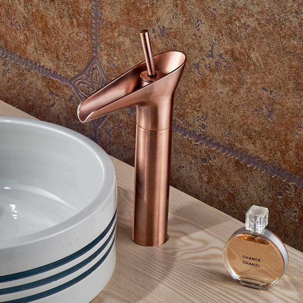 fancy copper faucet