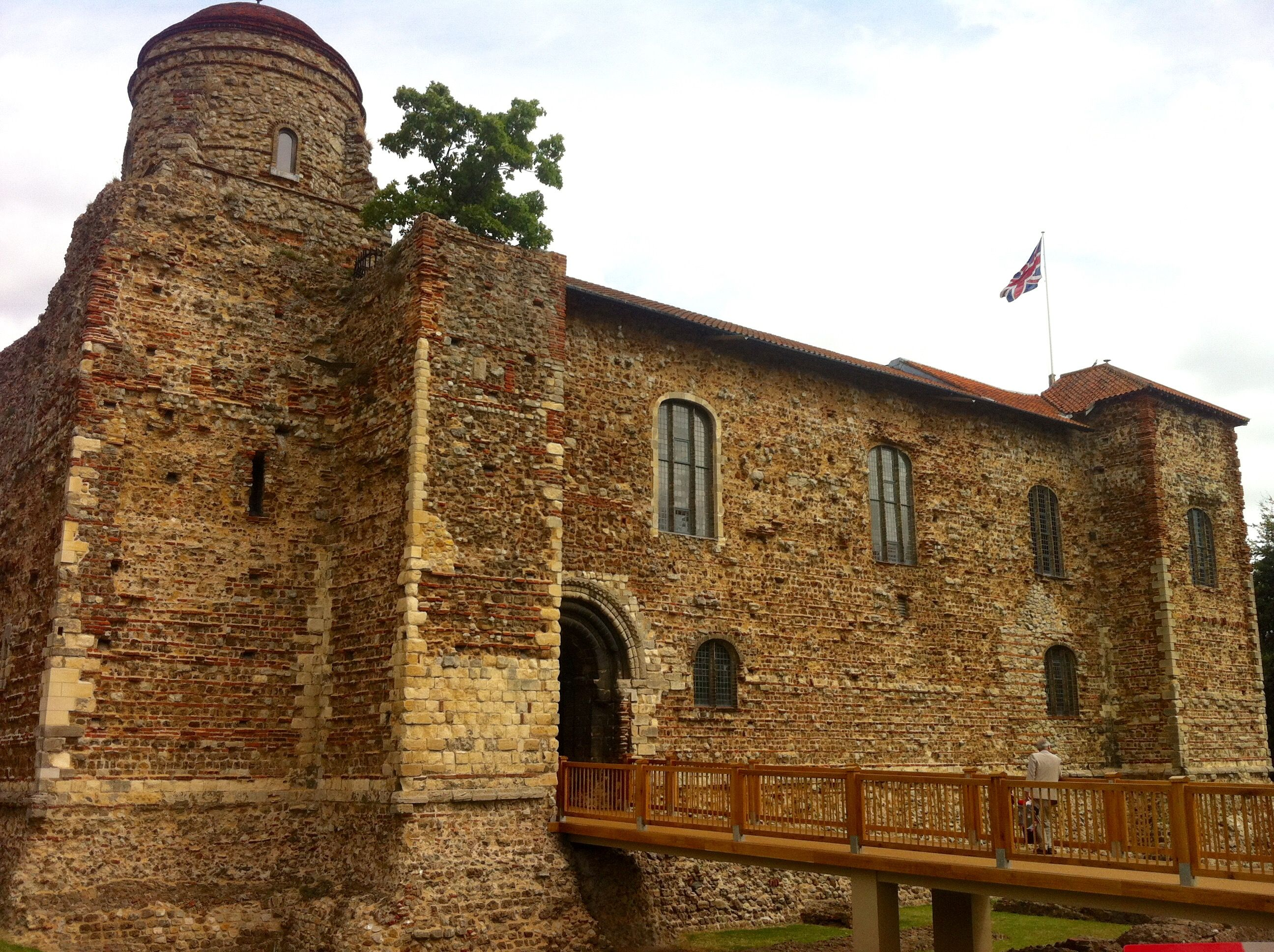 colchester castle uk 2015 about 1000 years old built on top of roman