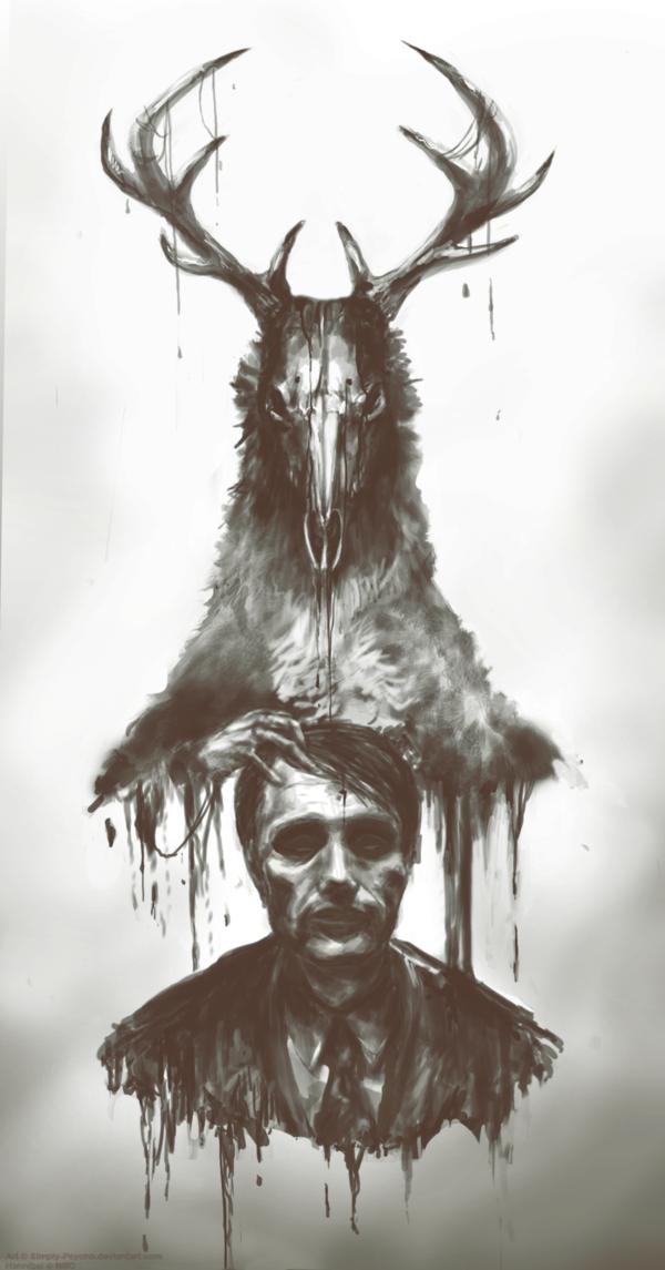 Hannibal By Simply Psycho On Deviantart Hannibal Wallpaper Hannibal Wendigo