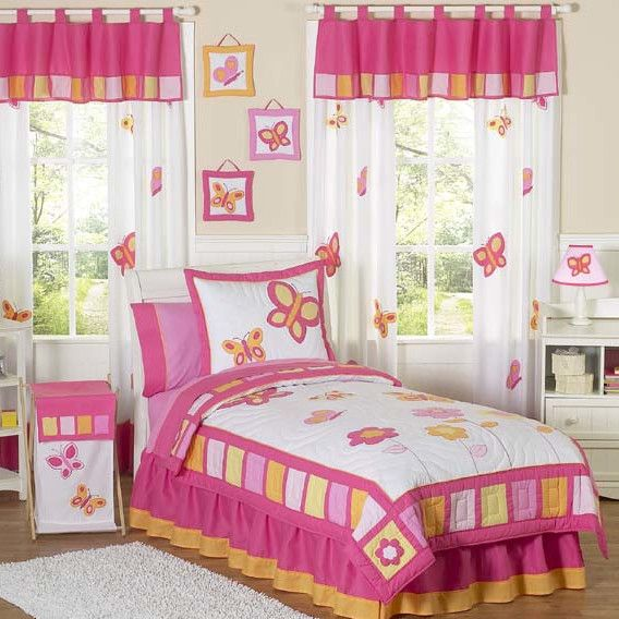 Butterfly Theme Bedrooms Design Ideas & Photos | Cortinas y Costura