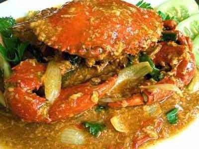 Resep Kepiting Telur Asin Indonesisch Eten Koken Aziatisch Eten