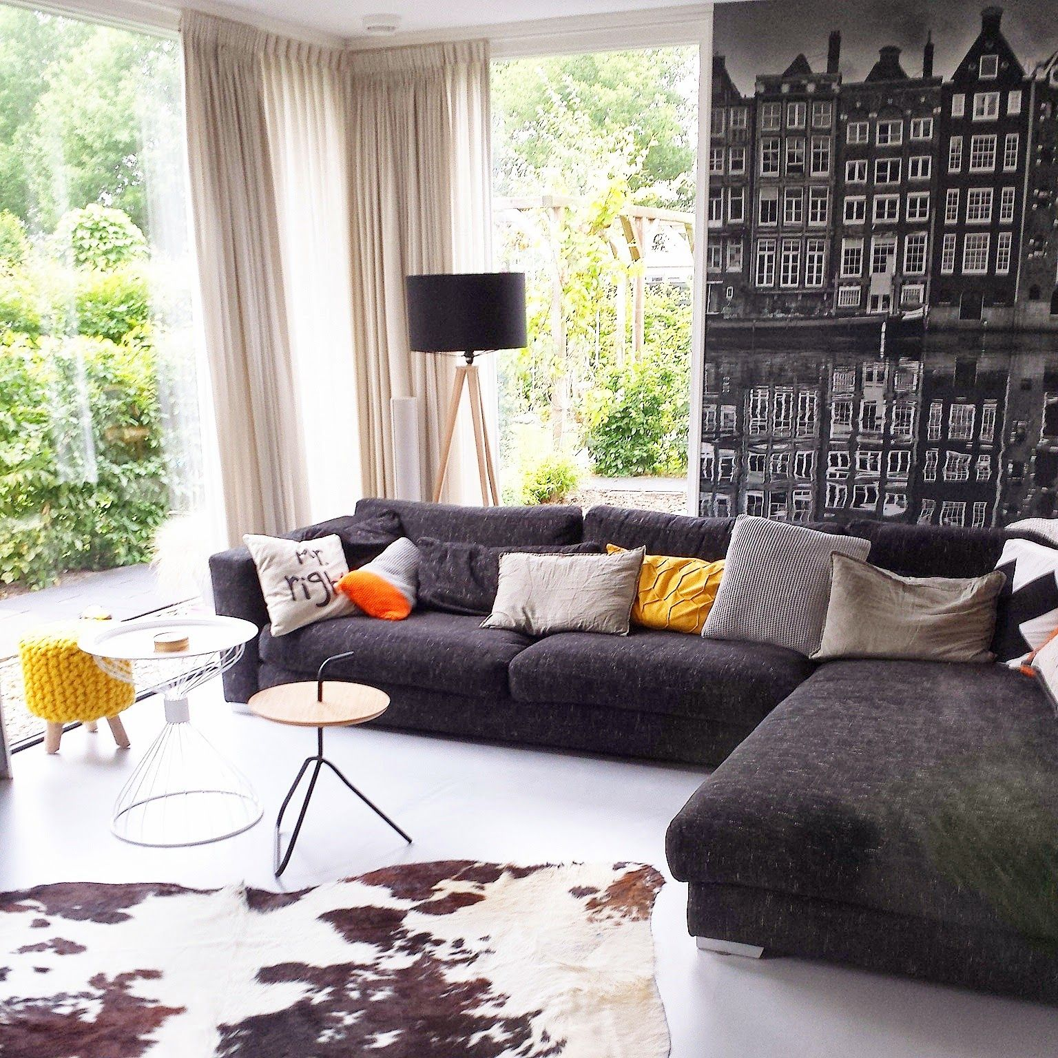 Personaliseer je interieur met fotobehang - woonkamer ideeën ...