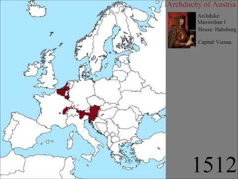 The Rise And Fall Of Austria And Prussia YouTube HISTORIA - Youtube germany map
