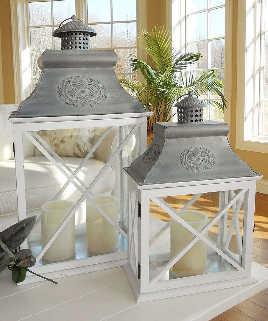 Zulily Home Decor: Look At This Gloucester Lantern Set On #zulily Today
