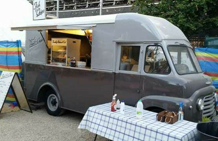 9be8dcf31483c5 1960 Commer/Karrier Mobile Fish & Chip Shop | Ice Cream and other ...
