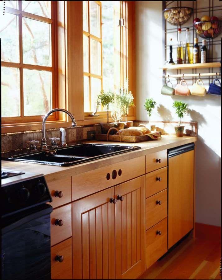Orcas Island Cabin By David Vandervort Kitchen Design Small Small Kitchen Kitchen Inspirations