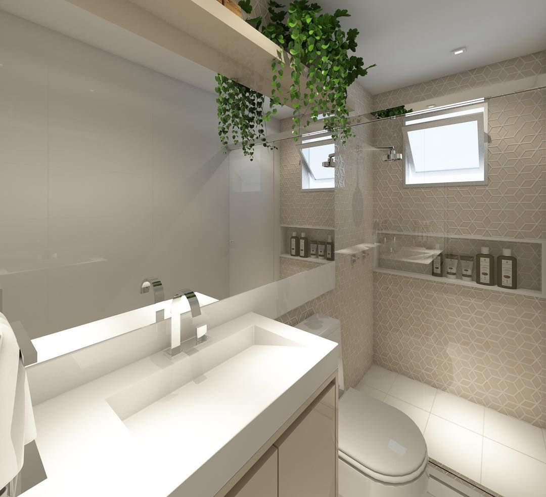 Banheiros decorados 100 ideias tend ncias fotos 2017 for Imagenes de pisos decorados