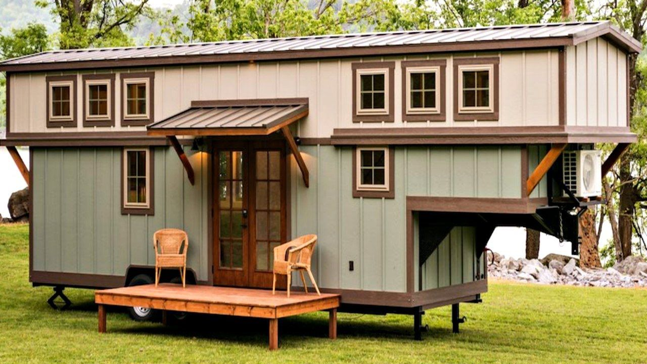 Tiny Home Designs: Stunning Well-Crafted Gooseneck Tiny House On Wheels