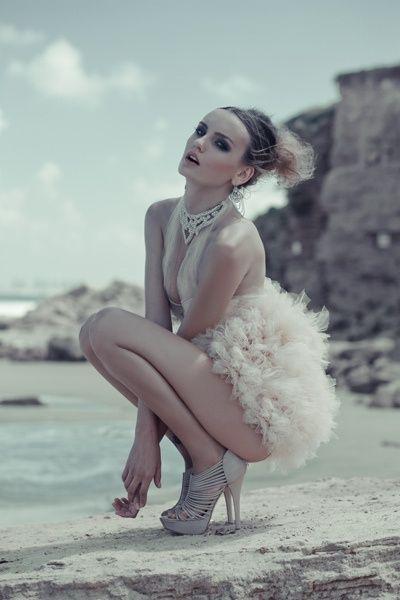 High Fashion Beauty The Beach