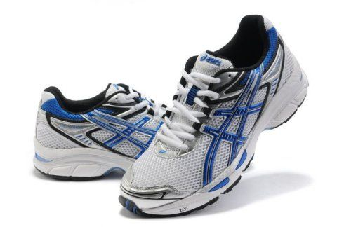http://asicsoutletonline.us/ Dignified Asics GEL-KAYANO 17 Running Shoes- White/Blue By Free Shipping $70 | $70 Asics Gel Kayano 17 | Pinterest