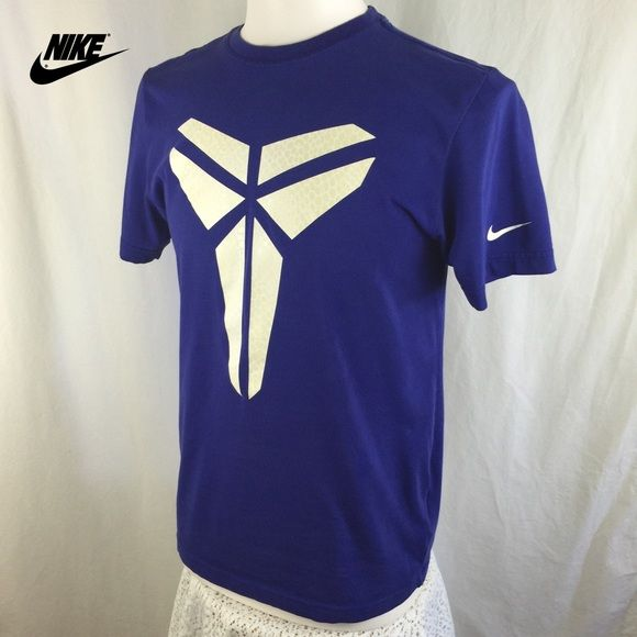 c6a659a3ae9 Nike Kobe Bryant Men s Black Mamba Tee Shirt Really cool blueish-purple  Nike tee shirt