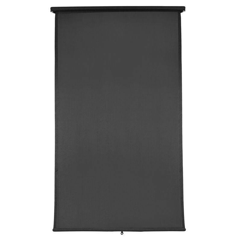 Windoware 1 8 X 2 1m Charcoal Retractable Blind Blinds Outdoor