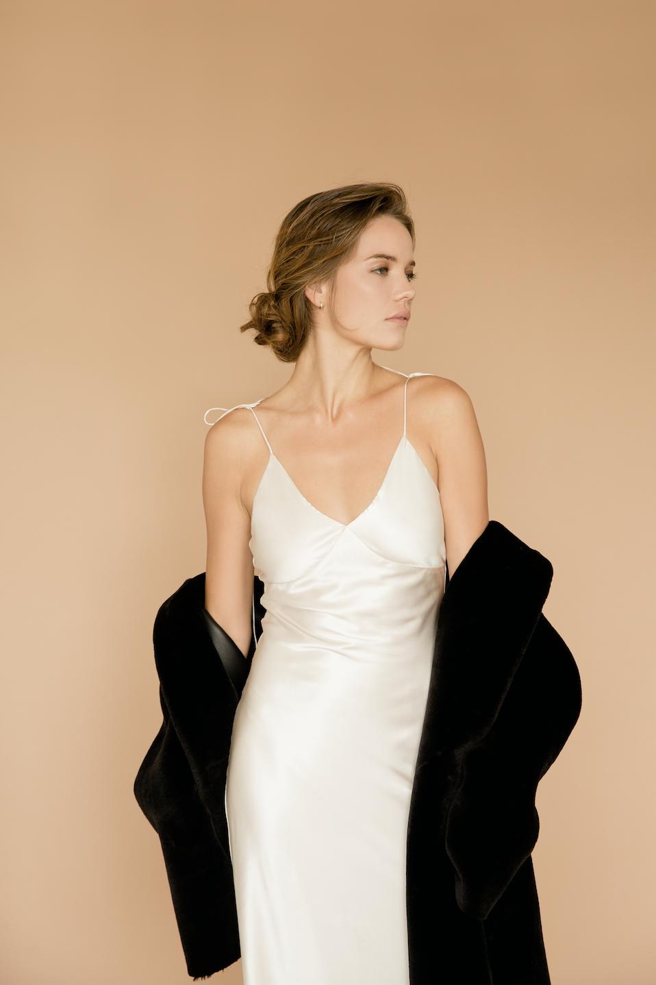 Silk Slip Silk Dress Layering White Silk Dress Elegant Silk Dress Elegant Slip Dress Slip Dress Outfit Ideas Elegant Silk Dresses Silk Dress Dresses [ 1438 x 958 Pixel ]