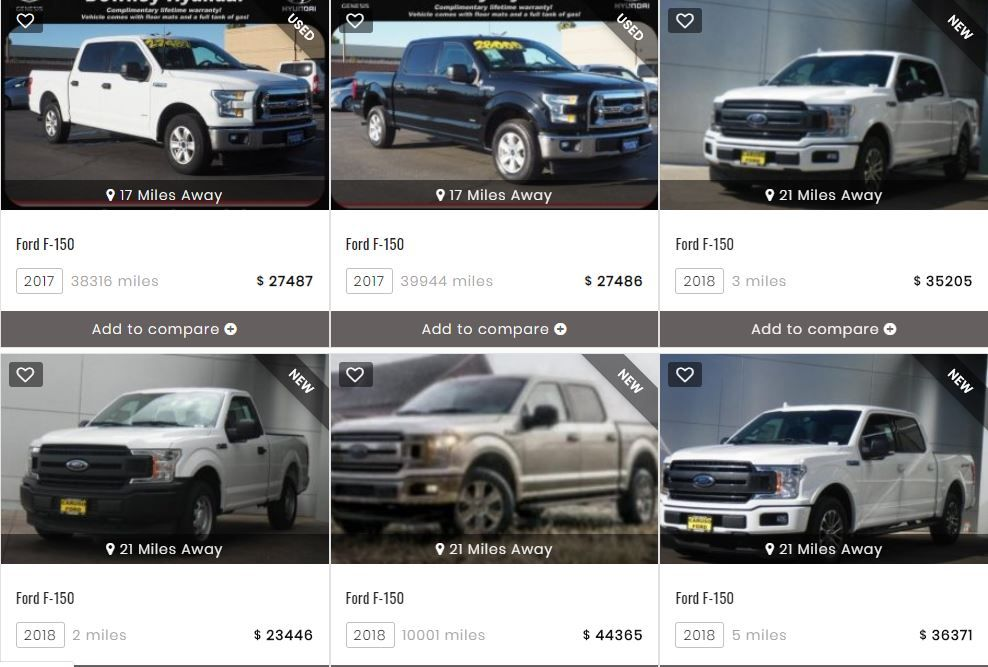 Findcarsnearme Offering A Range Of Ford Cars For Sale In Usa We