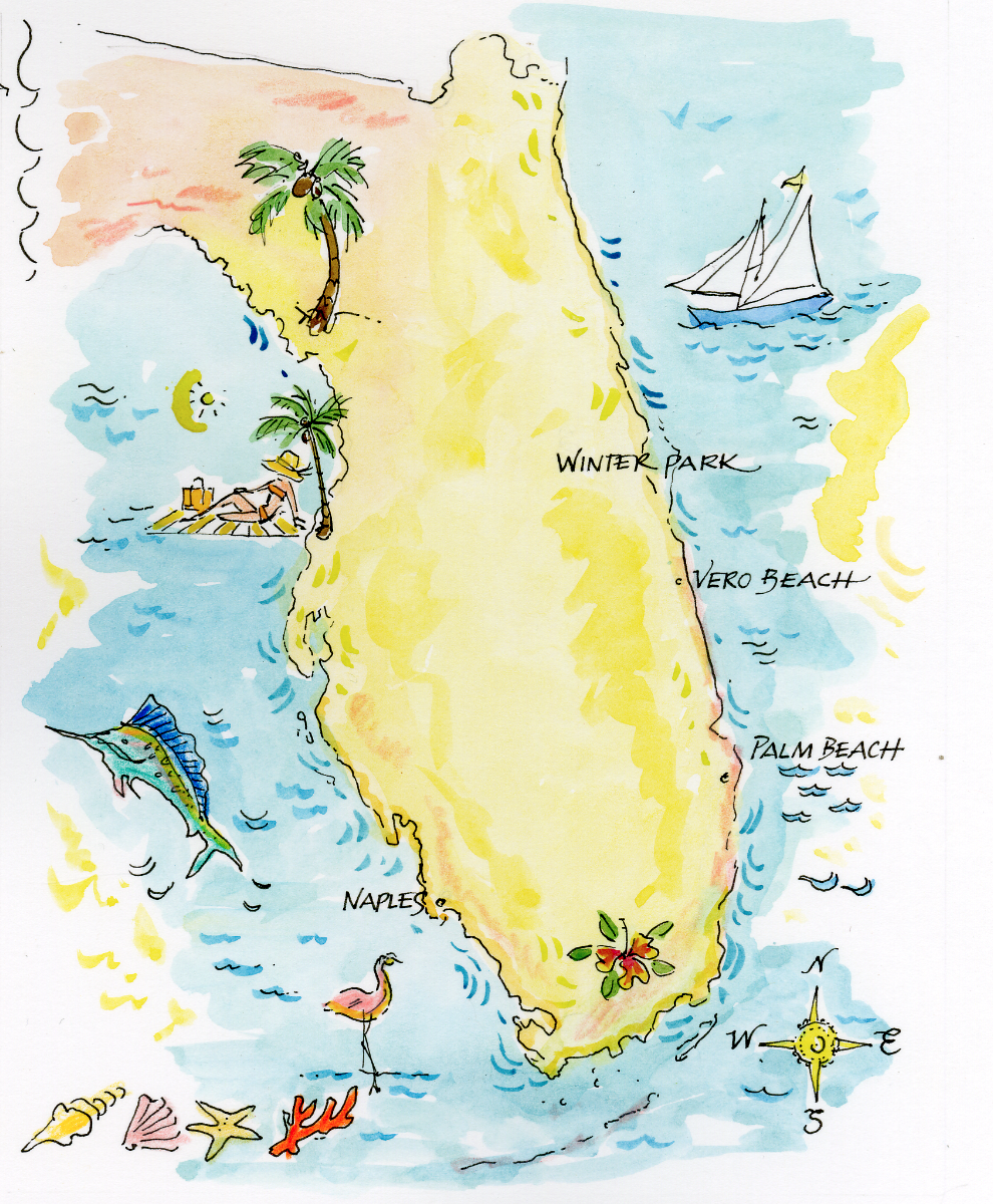 Florida Map Of Beaches.Pin By Amy Lewis On Florida Pinterest Sunshine State Sanibel