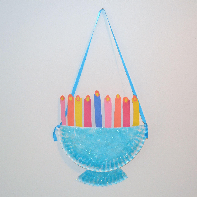 Menorah Craft For Kids Over 7