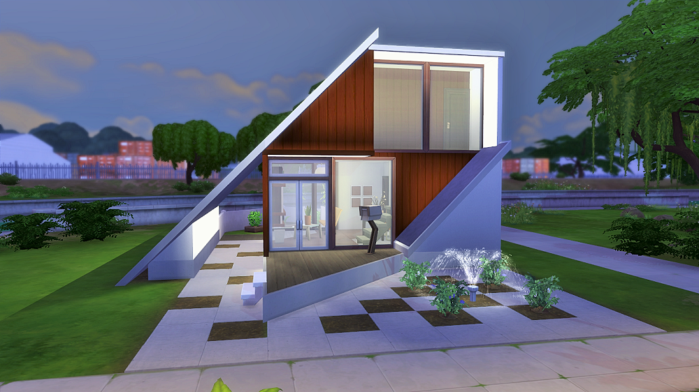 Obejrzyj t parcel w galerii the sims 4 chocolate cube for Small starter homes
