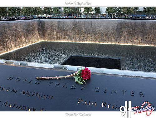 September 11 Memorial at Ground Zero #groundzeronyc