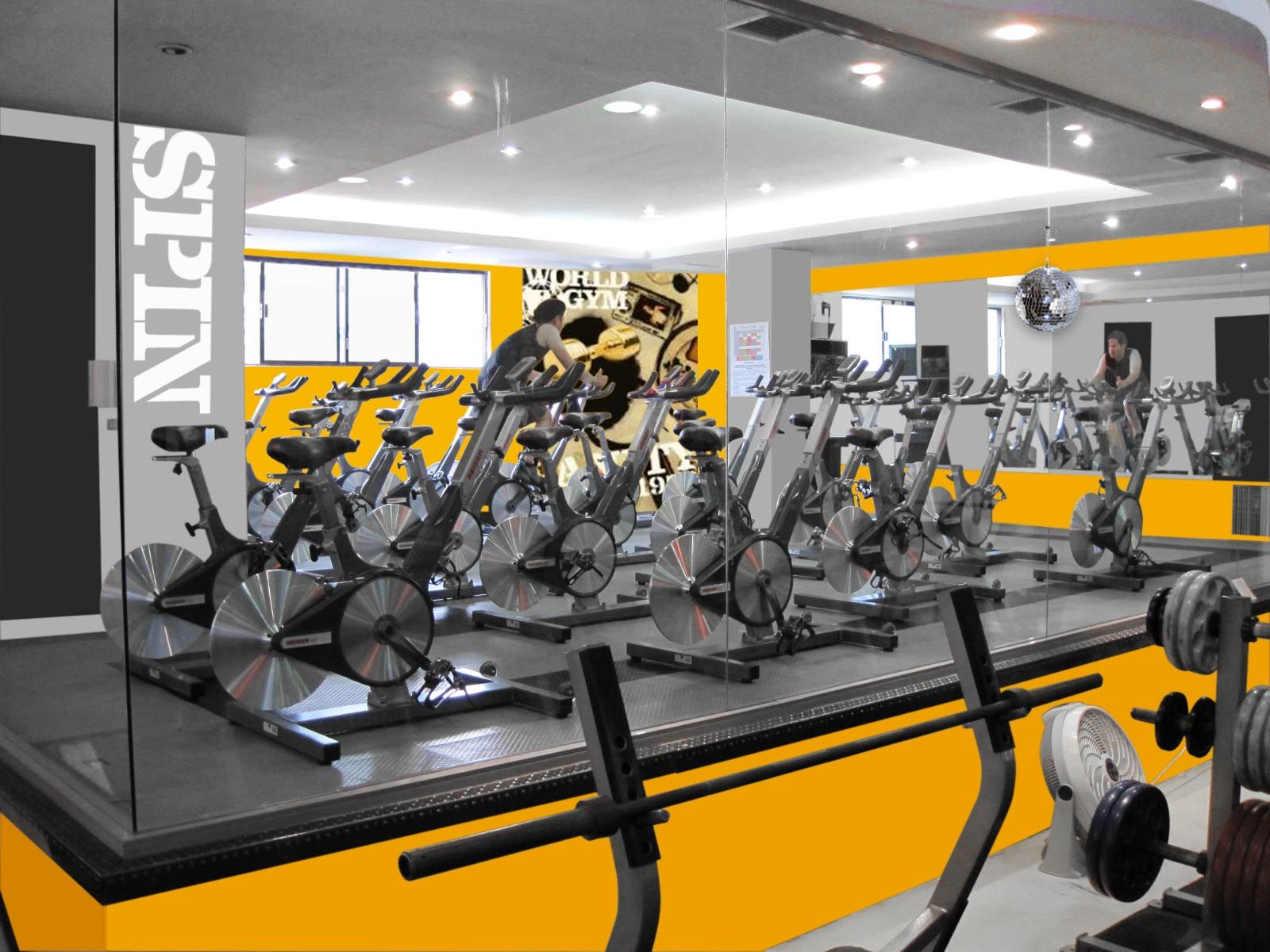 Modern gym design fitness pinterest