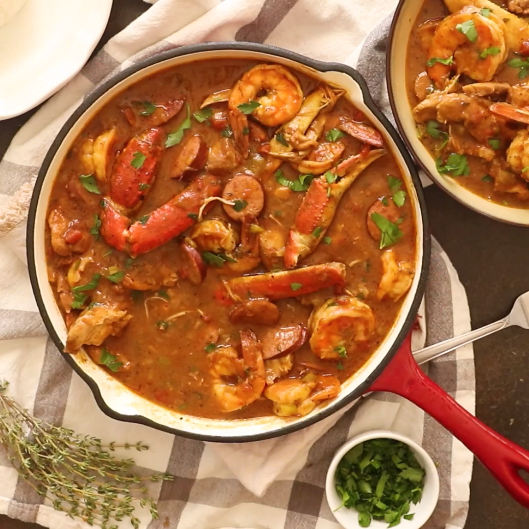 Photo of Chicken Shrimp and Sausage Gumbo