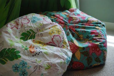 Magnificent Bean Bag Chair Cover Tutorial For The Old Bean Bags I Ibusinesslaw Wood Chair Design Ideas Ibusinesslaworg