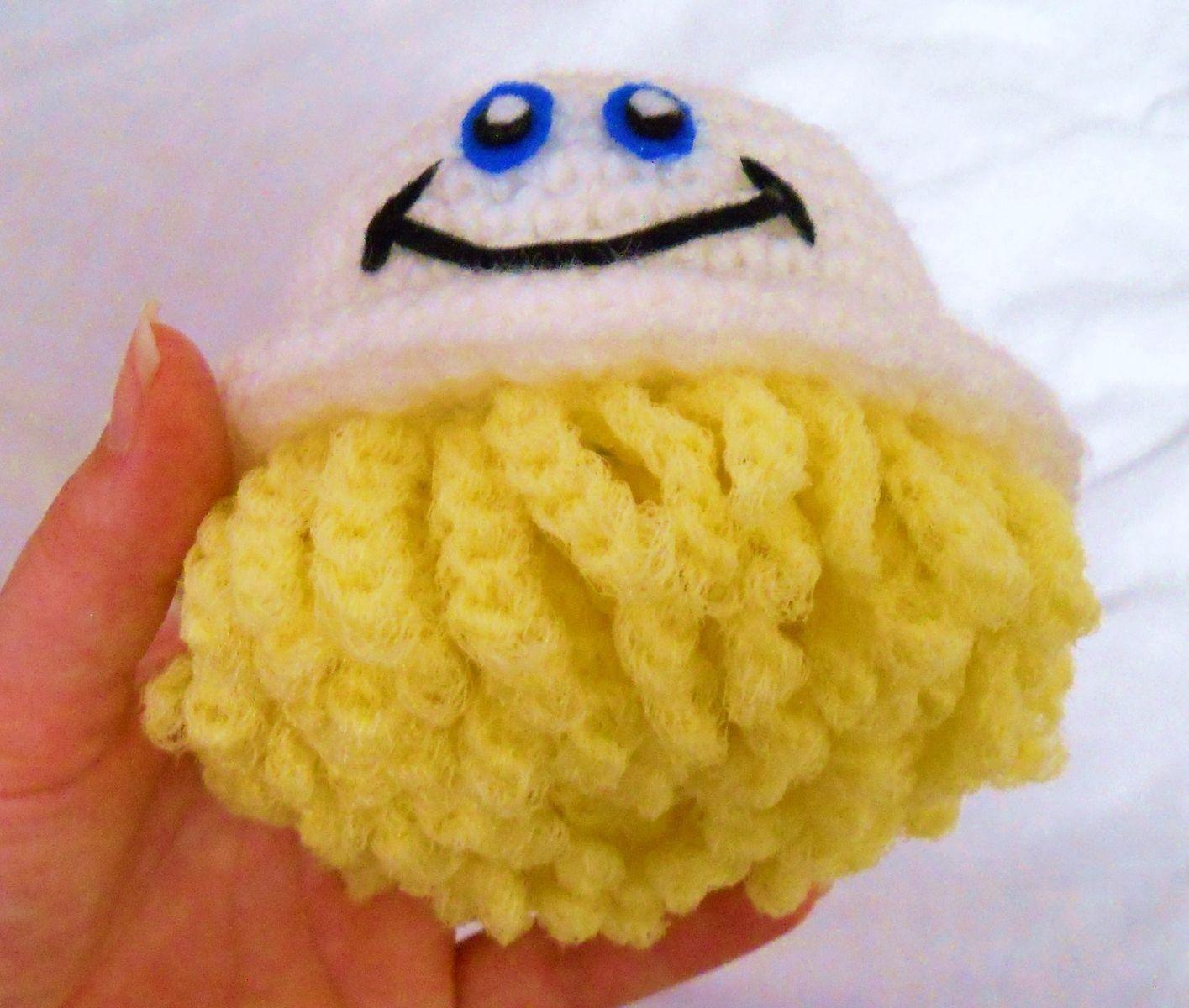Custom made mr scrubbles the happiest scrubber around crochet custom made mr scrubbles the happiest scrubber around crochet sponge with nylon dish scrubbie bankloansurffo Gallery