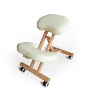 Chaise Orthopedique De Bureau Bois Confortable Siege Ergonomique