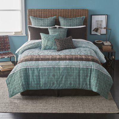 Wildwood 9 Piece Comforter Set by Bryan Keith - 2P790502TE