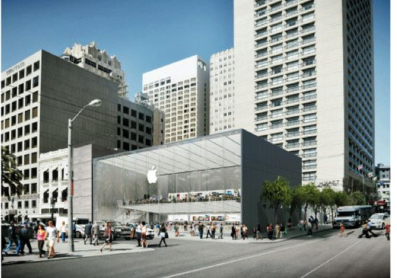 Fountain fans say Apple's S.F. store plans all wet - Therese Polettis Tech Tales - MarketWatch