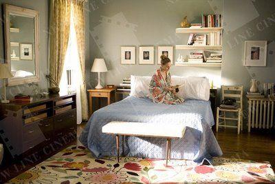 satc carrie 39 s bedroom food and decor pinterest zeichentrickserien zimmer gestalten und. Black Bedroom Furniture Sets. Home Design Ideas