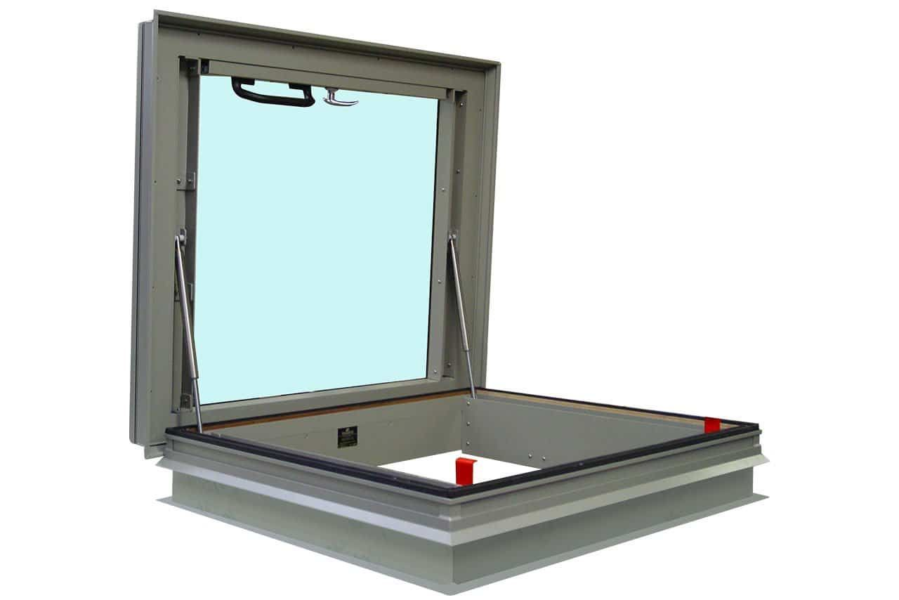 Glazed Roof Hatches And Glazed Roof Access Covers Manufactured By Surespan Ltd Uk Excellent Energy Conservation Propert Roof Access Hatch Roof Hatch Roof Cost