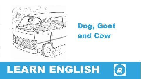 A kutyák futnak az autók után. A kecskék megriadnak, és inkább menekülőre fogják a dolgot, amikor motorzajt hallanak. A tehenek viszont teljesen nyugodtan sétálgatnak tovább a járművek láttán. Miért reagálnak ilyen eltérően az állatok a járművekre? Ezt meséli el ez a kis történet.
