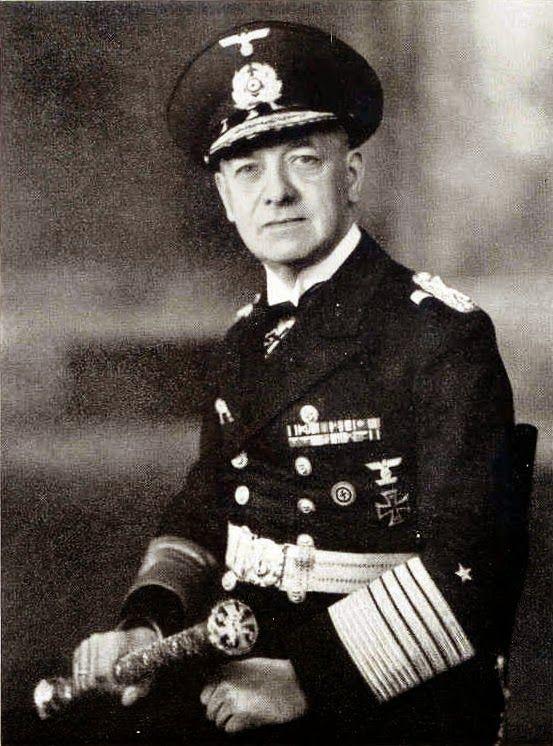 ■ Grossadmiral Erich Raeder - Oberbefehlshaber der Kriegsmarine