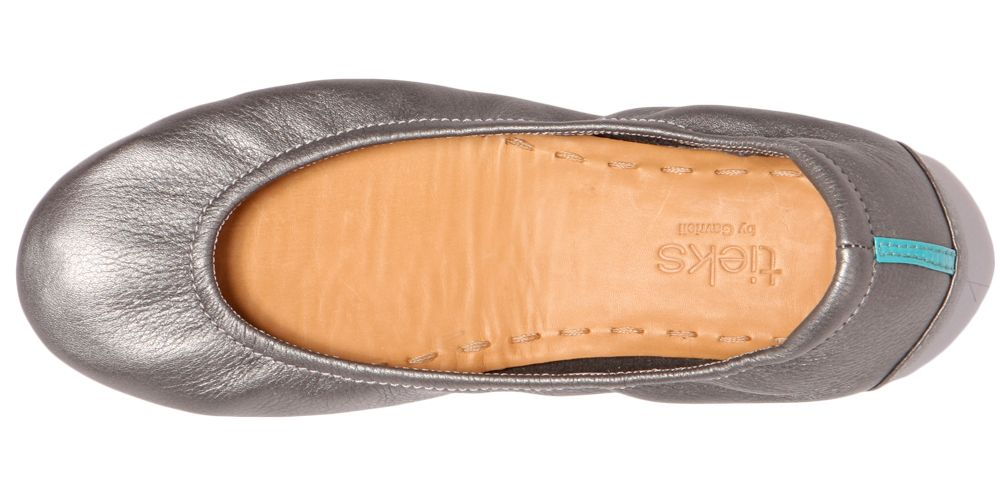 $175 Metallic Pewter Tieks - supposed to be the absolute most comfortable ballet flat ever.
