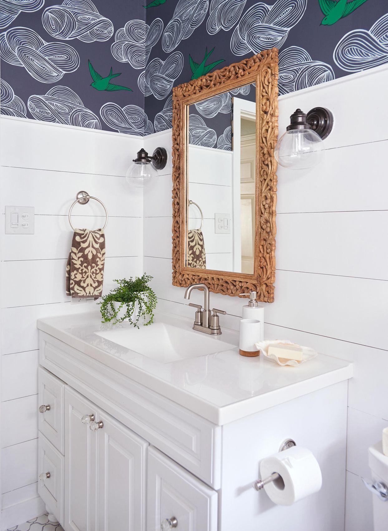 Stylish Bathroom Color Schemes In 2021 Bathroom Wall Coverings Bathroom Color Schemes Stylish Bathroom