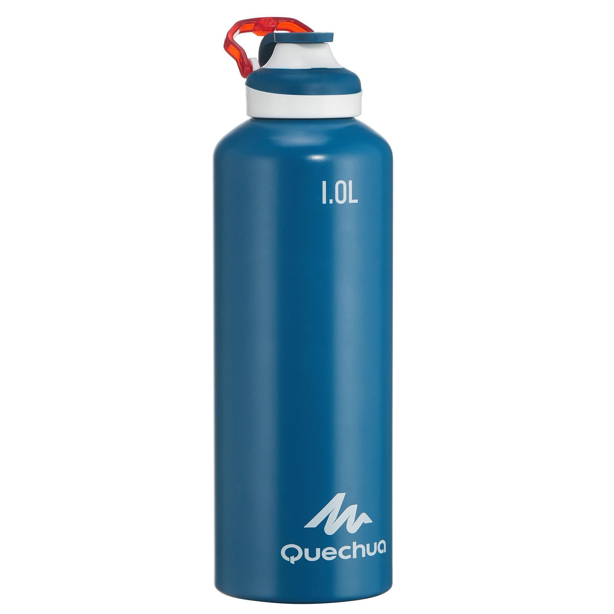 Trinkflasche 500 Mit Schnellverschluss Aluminium 1l Wishlist In