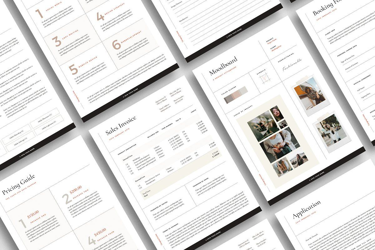 San Francisco Proposal Pack In 2021 Indesign Templates Adobe Indesign Templates Lettering Design