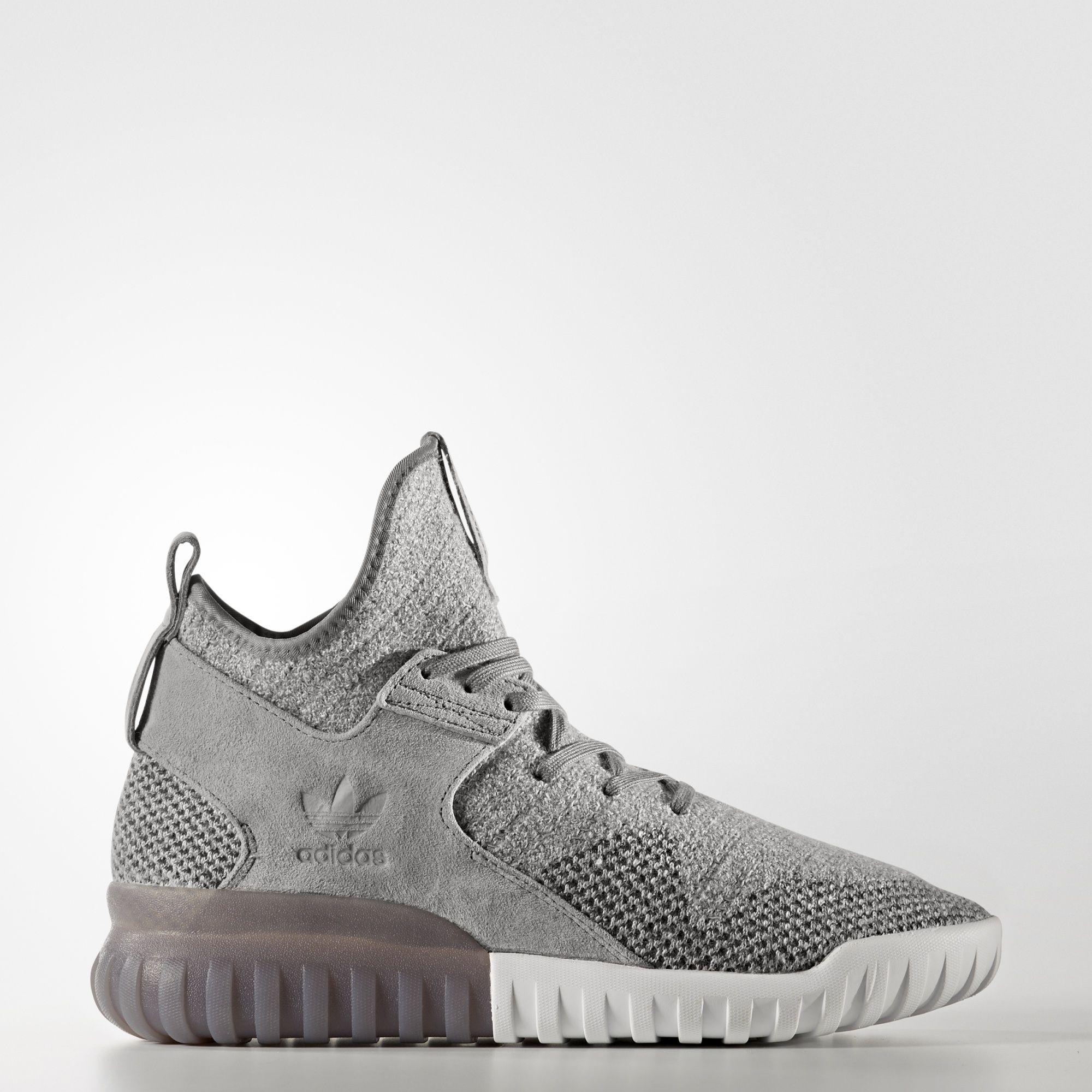 52ed60417d4  Adidas  BB2380 Tubular X PK Primeknit Men Women Running Shoes Sneakers Grey