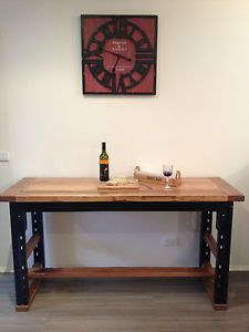Remarkable Vintage Industrial Kitchen Bench Table Desk Island Bench In Alphanode Cool Chair Designs And Ideas Alphanodeonline