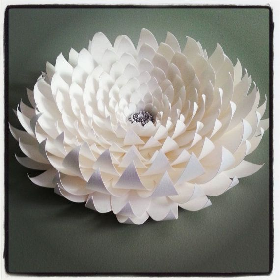 Weddings large paper flower 14 inches Color of your Choice #largepaperflowers