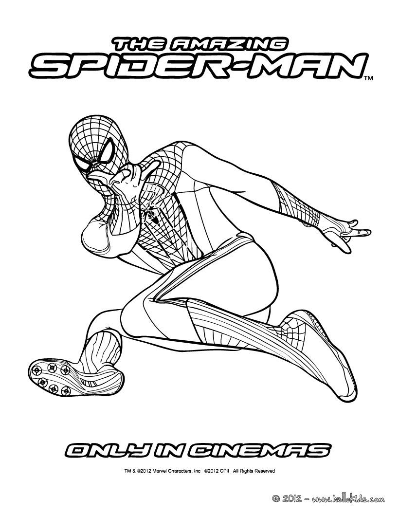 spider man coloring pages enjoy coloring with the colors of your