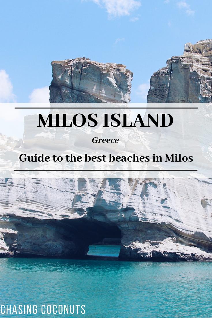 The best beaches on Milos Island | Greece #visitgreece