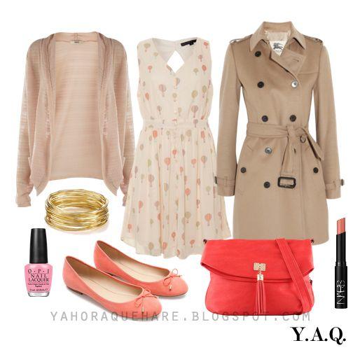 Y A Q Blog De Moda Inspiración Y Tendencias Y Ahora Qué Me Pongo Con Una Cartera Coral Moda Para Mujer Ropa Moda Para Damas